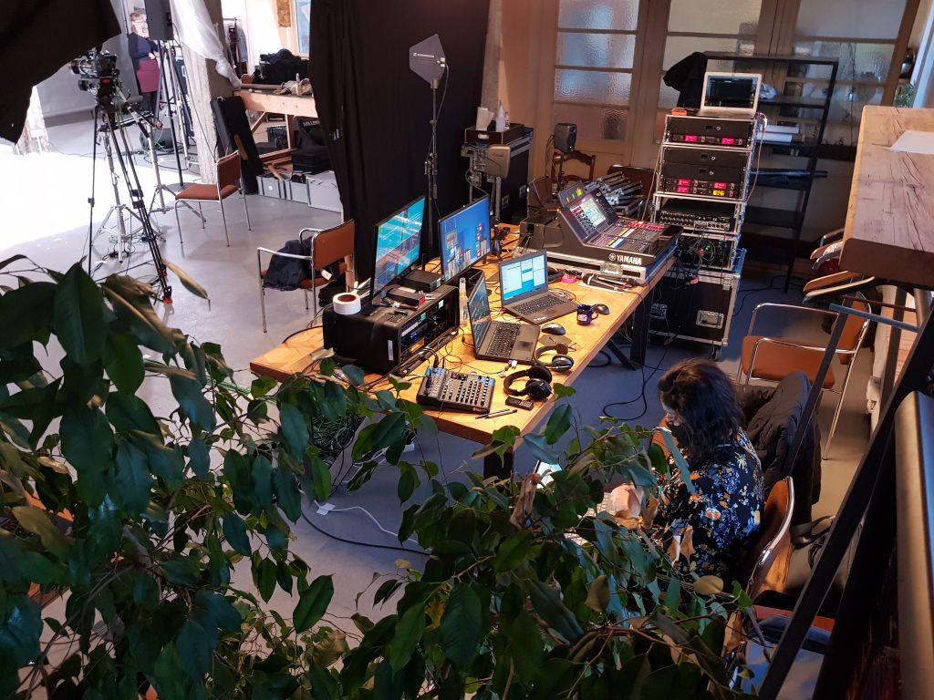 Ein Blick hinter die Kulissen der youcoN ins Studio